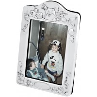 FR534   Baby Photo Frame with Velvet Back 6cm x 9cm Sterling Silver Ari D Norman
