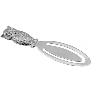 GT872   Owl Bookmark Sterling Silver Ari D Norman
