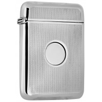 GT2127   Card Case Sterling Silver Ari D Norman