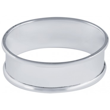 GT172   Oval Napkin Ring Sterling Silver Ari D Norman