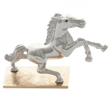 JGT33   Rhodium Plated Horse Figurine Jewelari of London