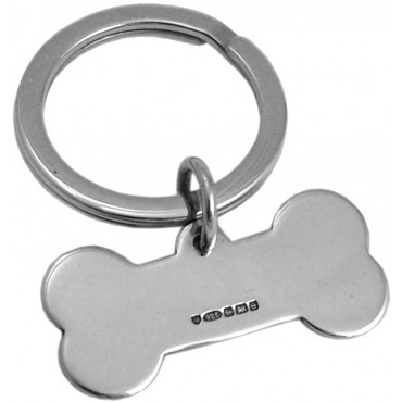K397   Bone Collar Tag Sterling Silver Ari D Norman