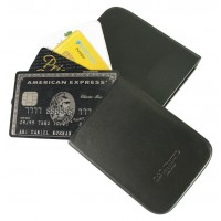 LTHR101 Croco Leather Credit Business Card Holder