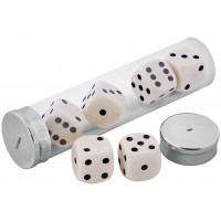 GT10   Traditional Dice Set Sterling Silver Ari D Norman