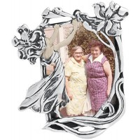 GT144 - Sterling silver Art Nouveau style miniature photo frame