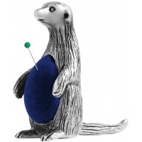 GT2263   Meerkat Pin Cushion Sterling Silver Ari D Norman