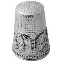 GT487   Butterfly Thimble Sterling Silver Ari D Norman