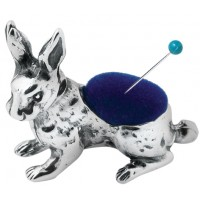 GT854   Rabbit Pin Cushion Sterling Silver Ari D Norman