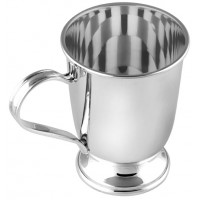 GT822   Plain Christening Cup Sterling Silver Ari D Norman