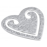 GT122   Heart Bookmark Sterling Silver Ari D Norman