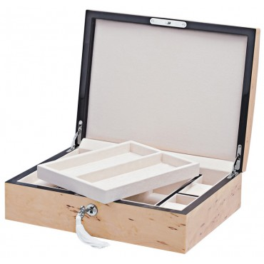 GT2102   Karelian Wood Accessory Box with Lift out Trays Ari D Norman