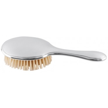 GT2014   Plain Vanity Table Brush Sterling Silver Ari D Norman