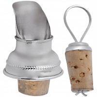 GT815   Bottle Pourer Sterling Silver Ari D Norman