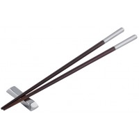 GT763   Pair of Capped Chopsticks Sterling Silver Ari D Norman