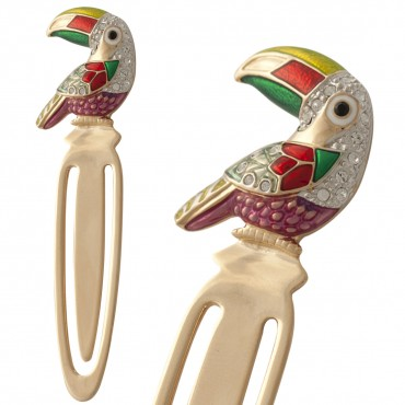 JGT32   Parrot Bookmark Jewelari of London