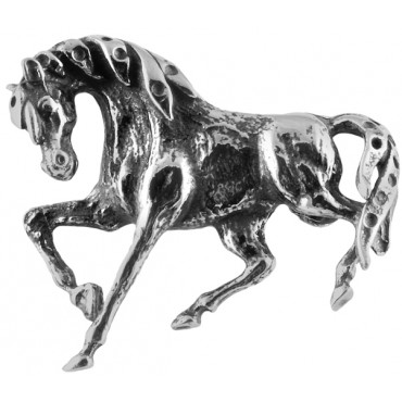 B415   Horse Brooch Sterling Silver Ari D Norman