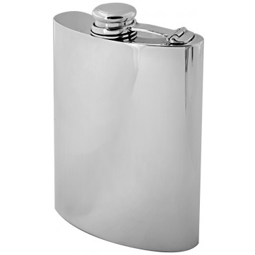 GT921   Hip Flask Sterling Silver Ari D Norman