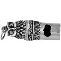 GT64   Owl Whistle Sterling Silver Ari D Norman
