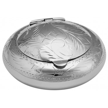GT820   Victorian Style Ashtray Sterling Silver Ari D Norman