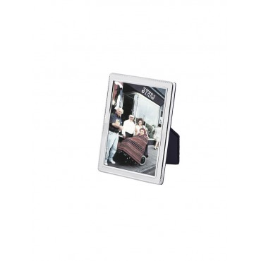 FR540   Beaded Photo Frame With Velvet Back 4cm x 5cm Sterling Silver Ari D Norman