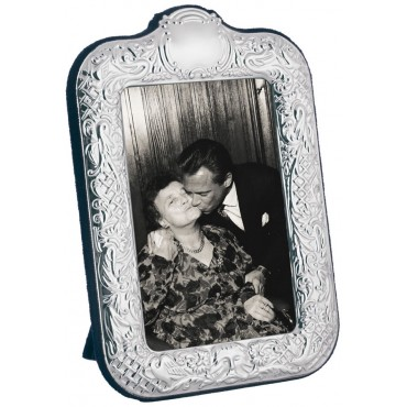 FR753   Victorian Style Photo Frame With Velvet Back 8cm x 13cm Sterling Silver Ari D Norman