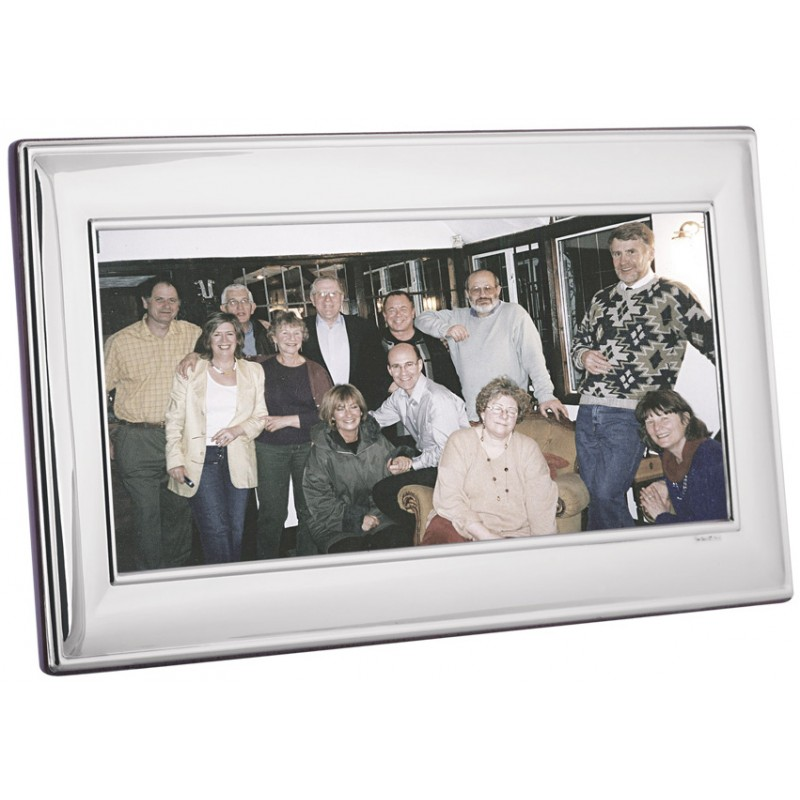 FR729 Plain Panoramic Photo Frame With Wooden Back 25cm x 10cm ...
