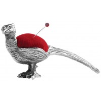 GT2259   Pheasant Pin Cushion Sterling Silver Ari D Norman